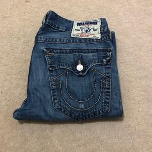 Men's True Religion Bootcut Jeans 34